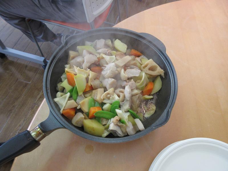 春野菜の含め煮